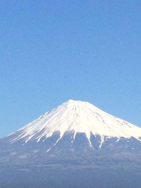 節分の富士山