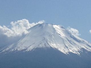 富士山 山中湖より